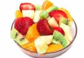 كيكة الفواكه